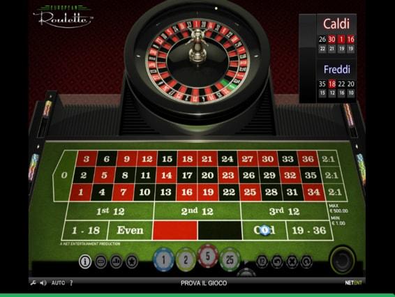 Casinoeuro Roulette